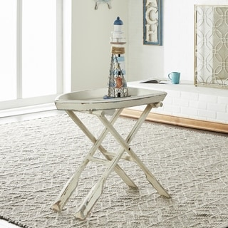 Wood Folding Table (28 inches wide x 25 inches high)