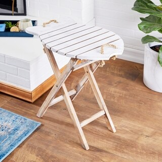 Wood Folding Table (23 inches wide x 24 inches high)