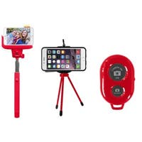 Jamsonic Selfie Tripod With Bluetooth Remote and Selfie Stick Set