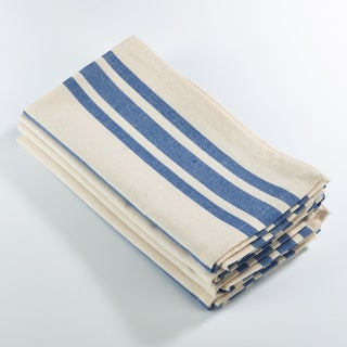 Dauphine Collection Striped Design Dinner Napkin (Set of 4)