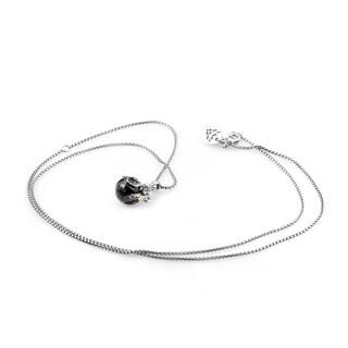 Stephen Webster Jewels Verne Sterling Silver Onyx Pendant Necklace