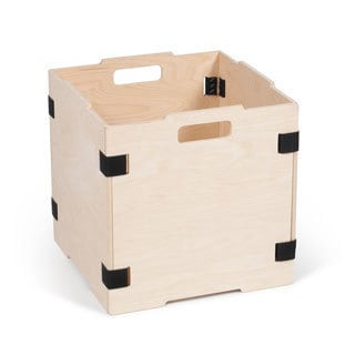 Stackable Unfinished Wood Storage Cubes