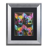 Dean Russo '11' Matted Framed Art