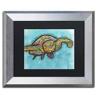 Dean Russo 'Turtle' Matted Framed Art
