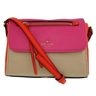 Kate Spade Cobble Hill Mini Toddy Tulip Pink/Bright Papaya/Porcelain Crossbody Handbag