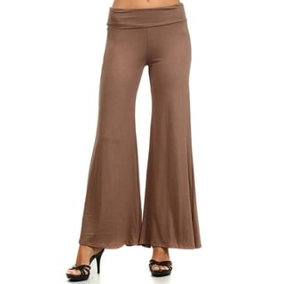 Plus Size Women's Solid Pants