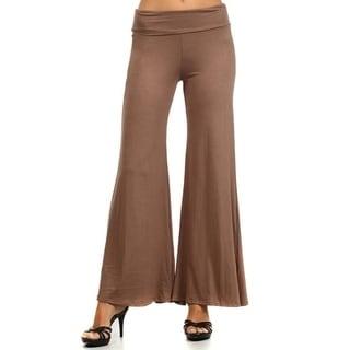 Plus Size Women's Solid Pants