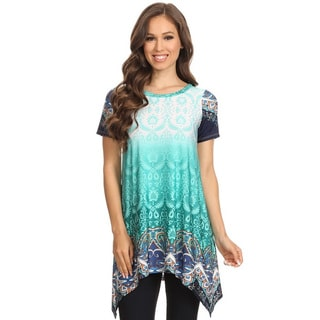 Women's Ombre Ornate Tunic