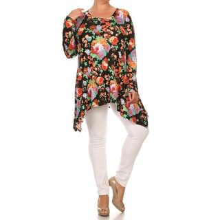 Women's Floral Plus-size Tunic