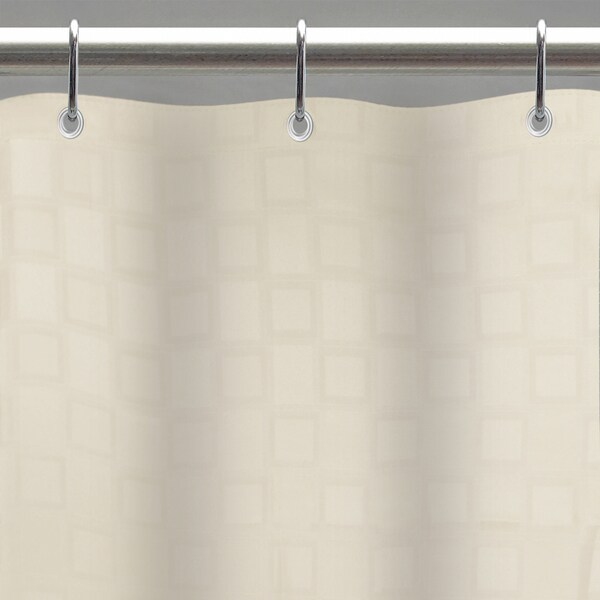 Excell Bowery Fabric Shower Curtain Liner