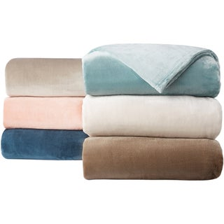 Home Fashion Designs Silana Collection Ultra Velvet Plush Fleece Blanket