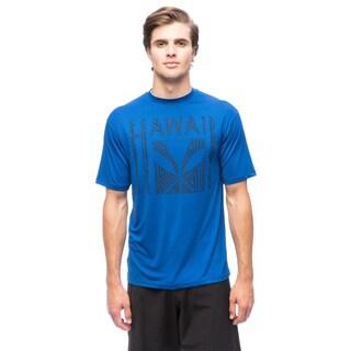 DaHui Men's 100-percent Polyester SPF 50+ Performance T-shirt