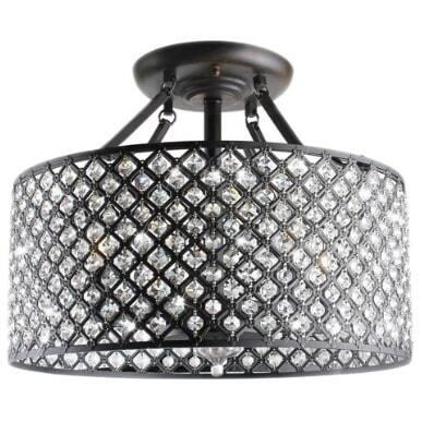 Alrai 4-light Semi-flush Mount Light