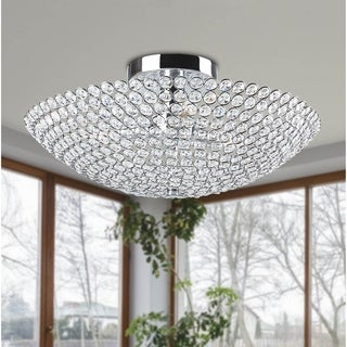Chronus 3 Light Semi Flush Mount