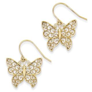 14k Butterfly Earrings by Versil