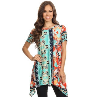 Women's Multi-Color Ornate Tunic