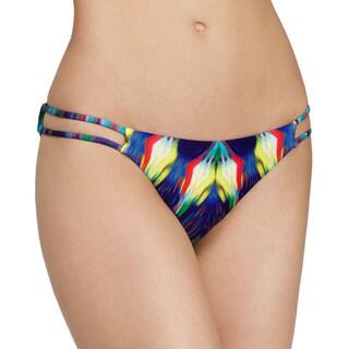PilyQ Girl on Fire Strappy Full Bikini Bottom