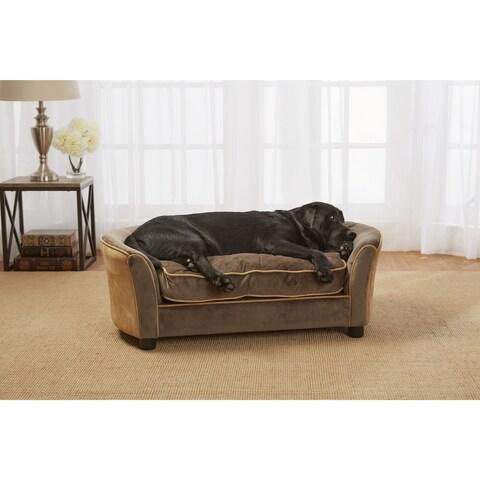 Enchanted Home Pet Panache Ultra-Plush Pet Sofa