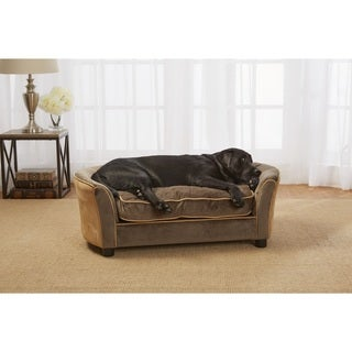 Enchanted Home Pet Panache Ultra-Plush Pet Sofa