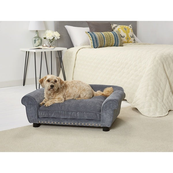 Enchanted Home Pet Dreamcatcher Velvet Pet Sofa Free