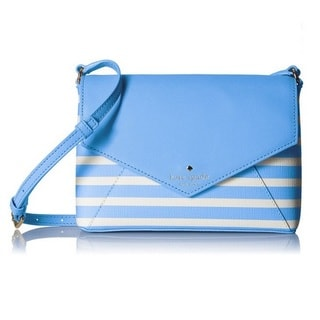 Kate Spade New York Fairmount Square Large Monday Alice Blue/Sandy Beach Crossbody Handbag