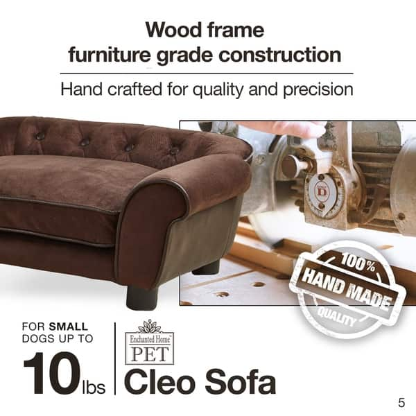 Enchanted Home Pet Cleo Brown Faux