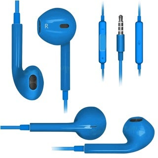 Jamsonic Earbud Headphones with Microphone and Remote Control for Apple Products
