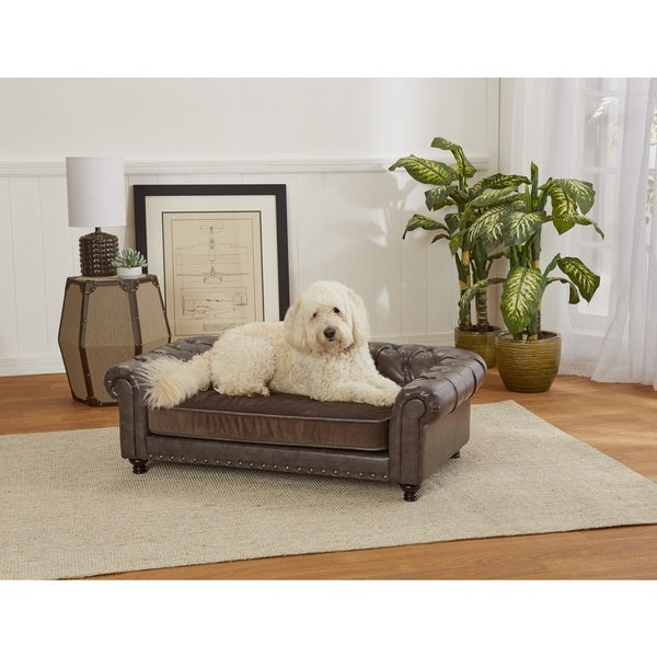 Enchanted Home Wentworth Tufted Pet Sofa Free Shipping Today 19063498