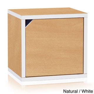 Handmade Floyd Eco Friendly Stackable Storage Cube Unit with Door LIFETIME WARRANTY (made from sustainable no