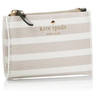 Kate Spade Fairmount Square Cori Coin Purse- Crisp Linen/Cream