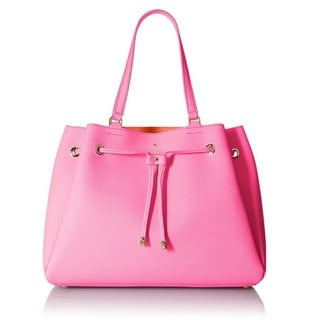 Kate Spade Cape Drive Lynnie Tote Bag - Rouge Pink/Bright Papaya