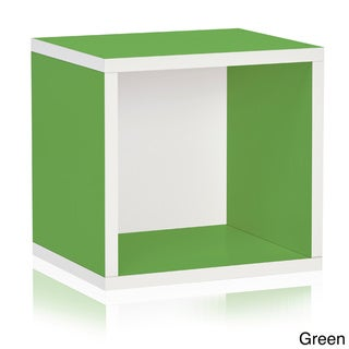 Princeton Eco Friendly Stackable Open Storage Cube Unit LIFETIME WARRANTY (made from sustainable non-toxic zBoard paperboard)