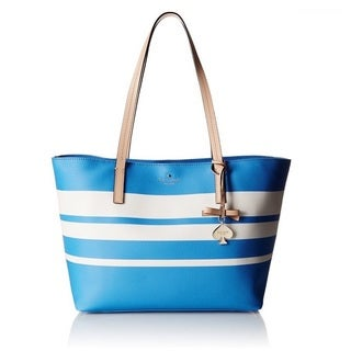 Kate Spade New York Hawthorne Lane Ryan AdventureBlue/Cement Tote Bag
