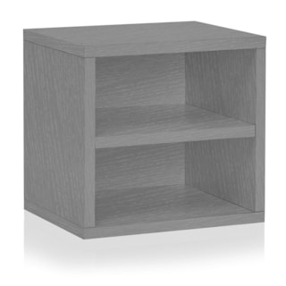 Eco Stackable Connect Storage Cube with Shelf (made from sustainable non-toxic zBoard paperboard)