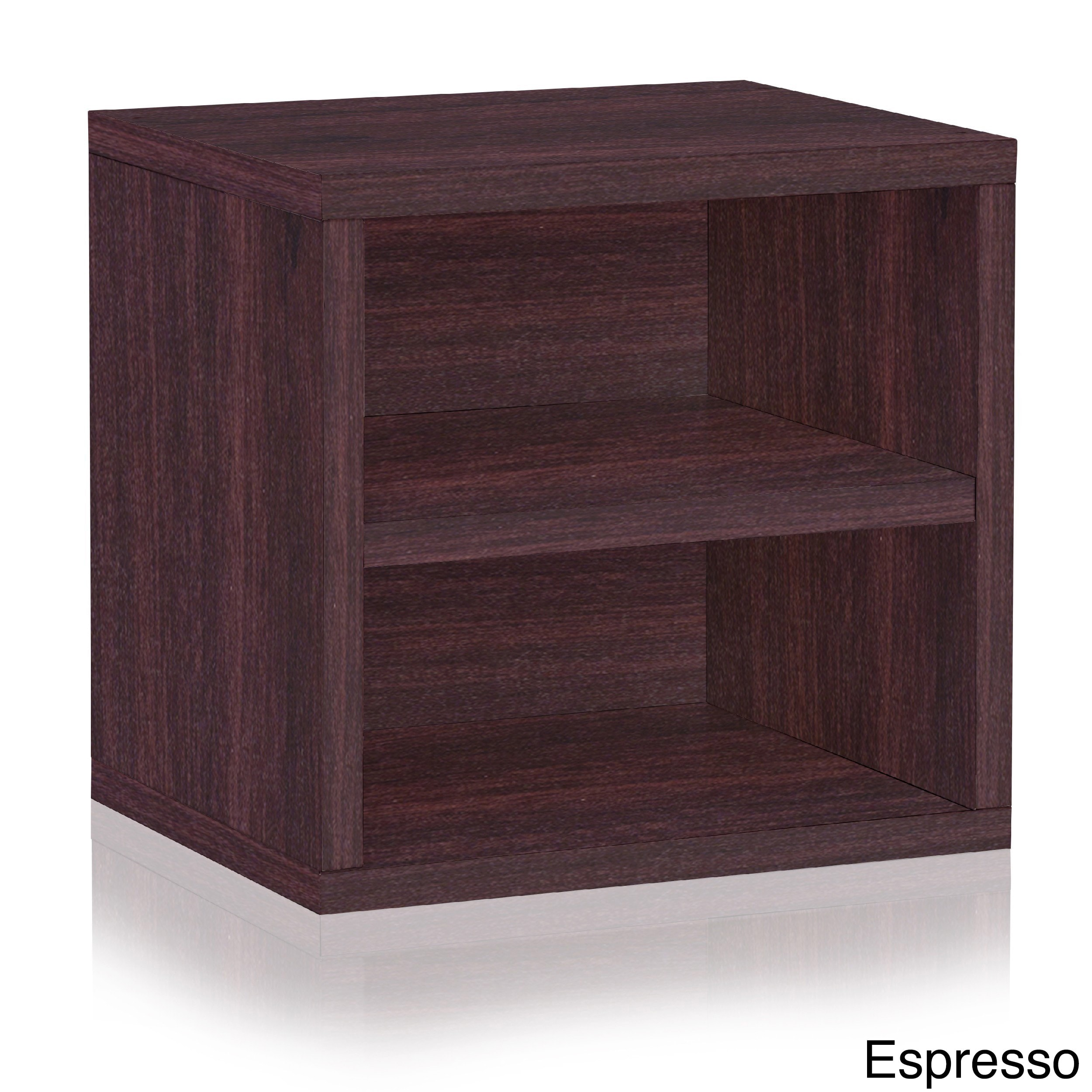 Weston Eco Stackable Storage Cube Unit with Shelf by Way ...