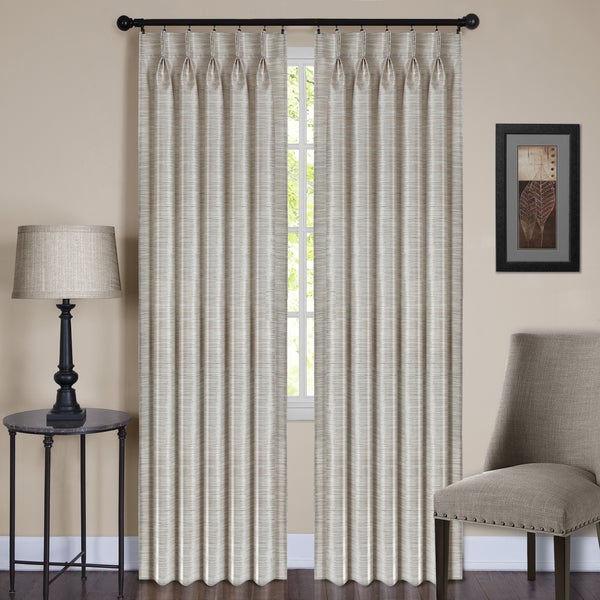 Achim ACHIM Parker Pinch Pleated Window Curtain Panel. Opens flyout.