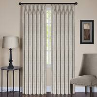 Achim ACHIM Parker Pinch Pleated Window Curtain Panel