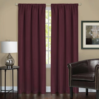 Harmony Blackout Red/Grey/Green/Tan Window Curtain Panel