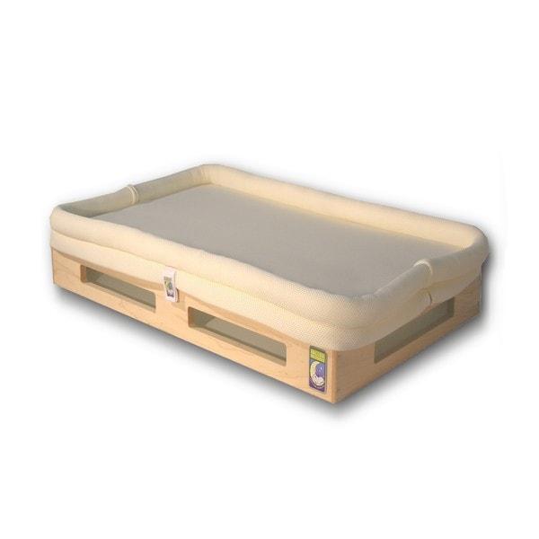 Mini SafeSleep Breathable Natural Crib Mattress Free
