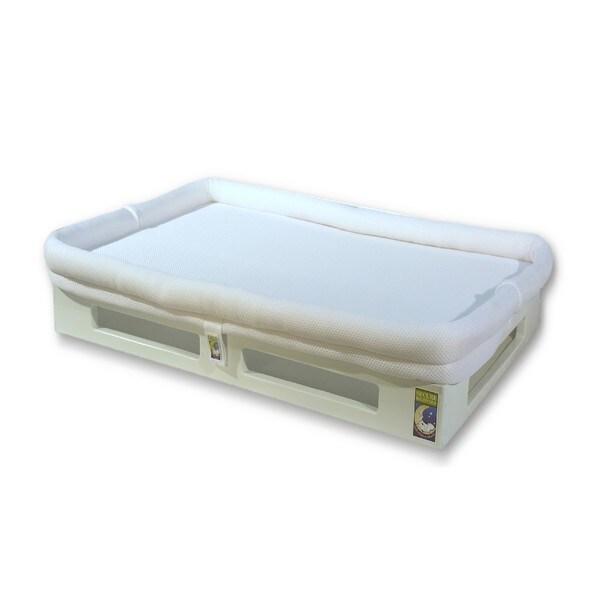 Mini SafeSleep Breathable White Crib Mattress Free