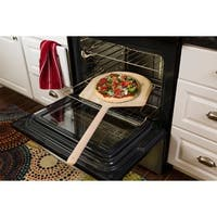 Honey-Can-Do Basswood Pizza Peel XL 16in