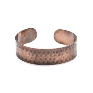 Handmade Copper Raj Cuff (India)