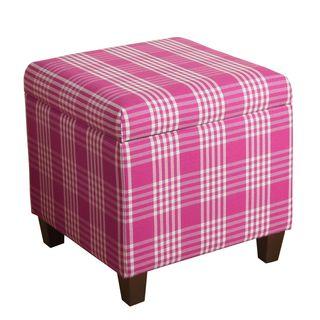 HomePop Anderson Storage Cube Ottoman