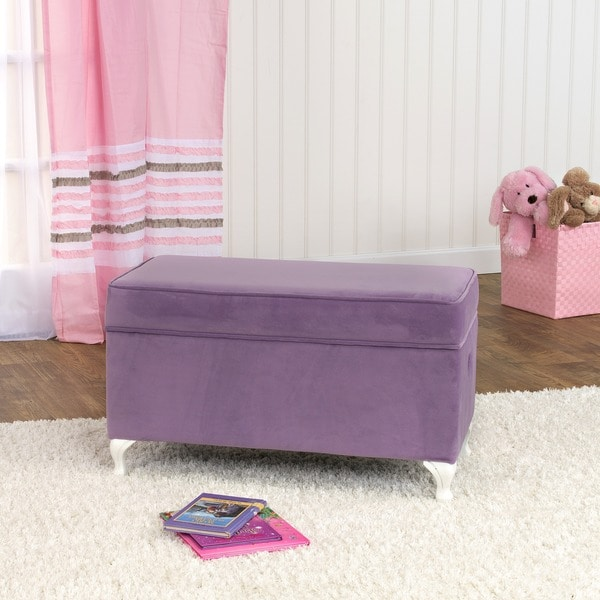 HomePop Diva Decorative Storage Bench