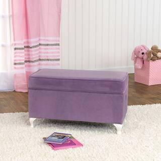 HomePop Diva Decorative Storage Bench