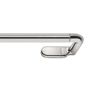 Achim Innovative 'Dylan' Nickel-finished Metal Wrap Around Curtain Rod