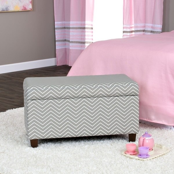 HomePop Cameron Storage Bench