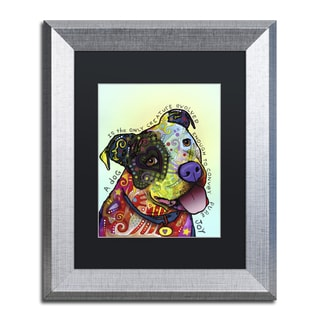 Dean Russo 'Pure Joy' Matted Framed Art