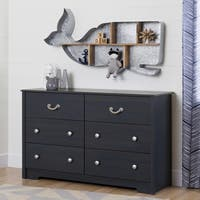 South Shore Aviron 6-Drawer Double Dresser