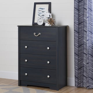 South Shore Aviron Blueberry 4-drawer Chest
